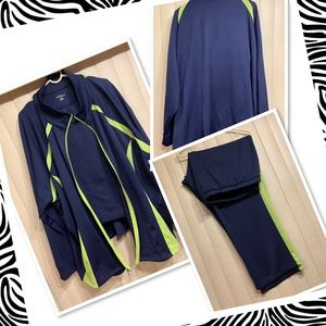 Catherine's two piece activewear set size 5X
